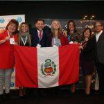Marcelo Capdevila, Dr. Grupo GEA LATAM y Sonia Postigo, Dr. GEA Perú junto a Agencias GEA de Perú_result